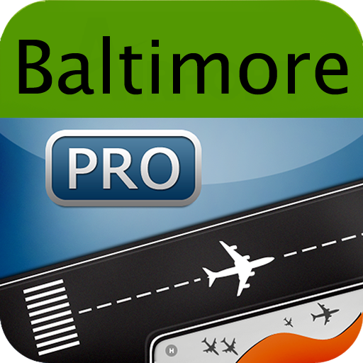 Baltimore Airport+Flight Track LOGO-APP點子