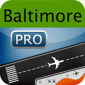 Baltimore Airport+Flight Track