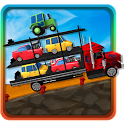 Car Transporter 3D icon