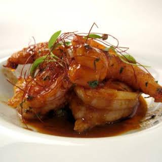Shrimp Alhinho Recipe from Aldea.