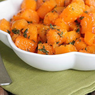 Honey Thyme Roasted Butternut Squash.
