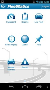 FleetMatics Mobile- screenshot thumbnail