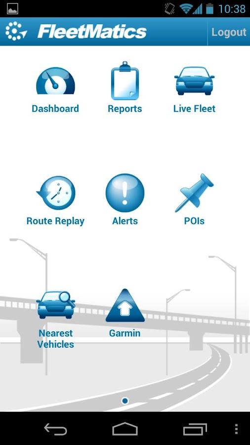 FleetMatics Mobile - screenshot