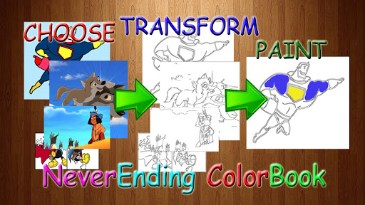 Coloring Book Neverending