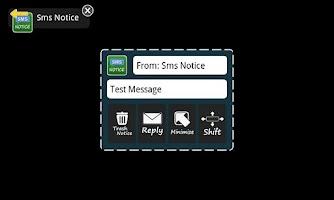 Screenshot of Sms Notice Lite