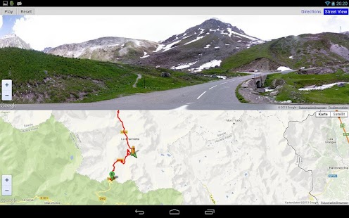 Giro d'Italia routes 2013 - screenshot thumbnail