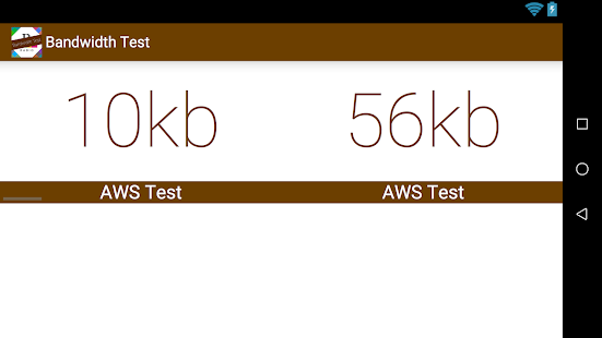 how to run bandwidth test