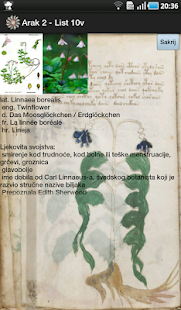 Voynich manuscript Screenshot