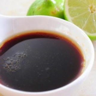 Ginger Soy Dipping Sauce.