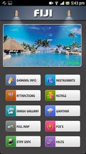 Fiji Offline Map Travel Guide - náhled