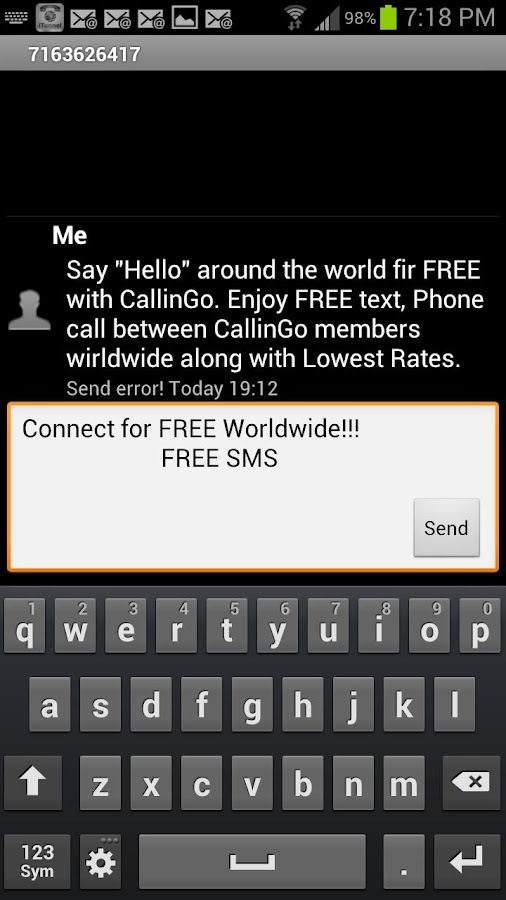 iTunnel: Cheap calls Worldwide- screenshot