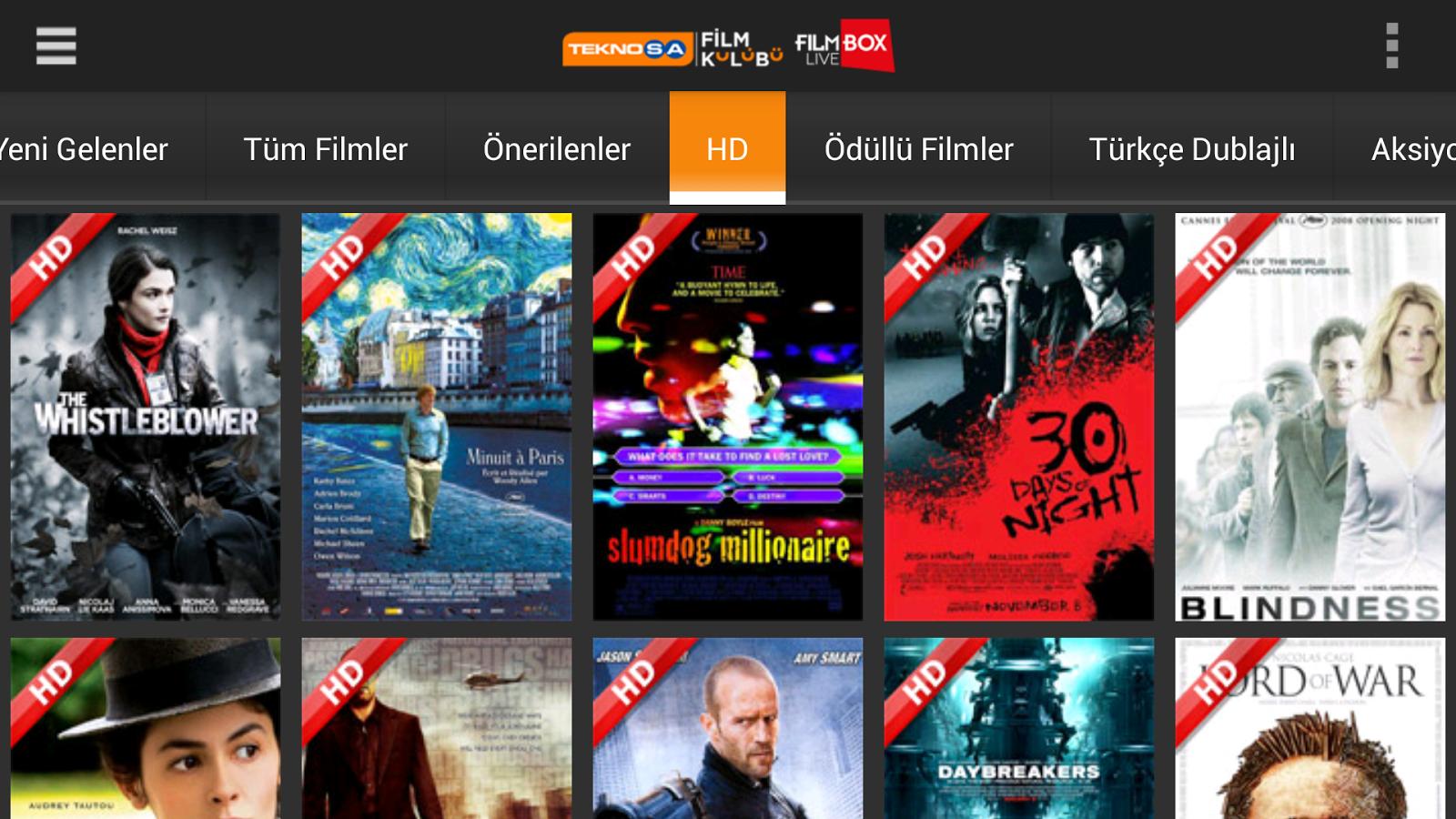 Teknosa Film Kulübü - screenshot
