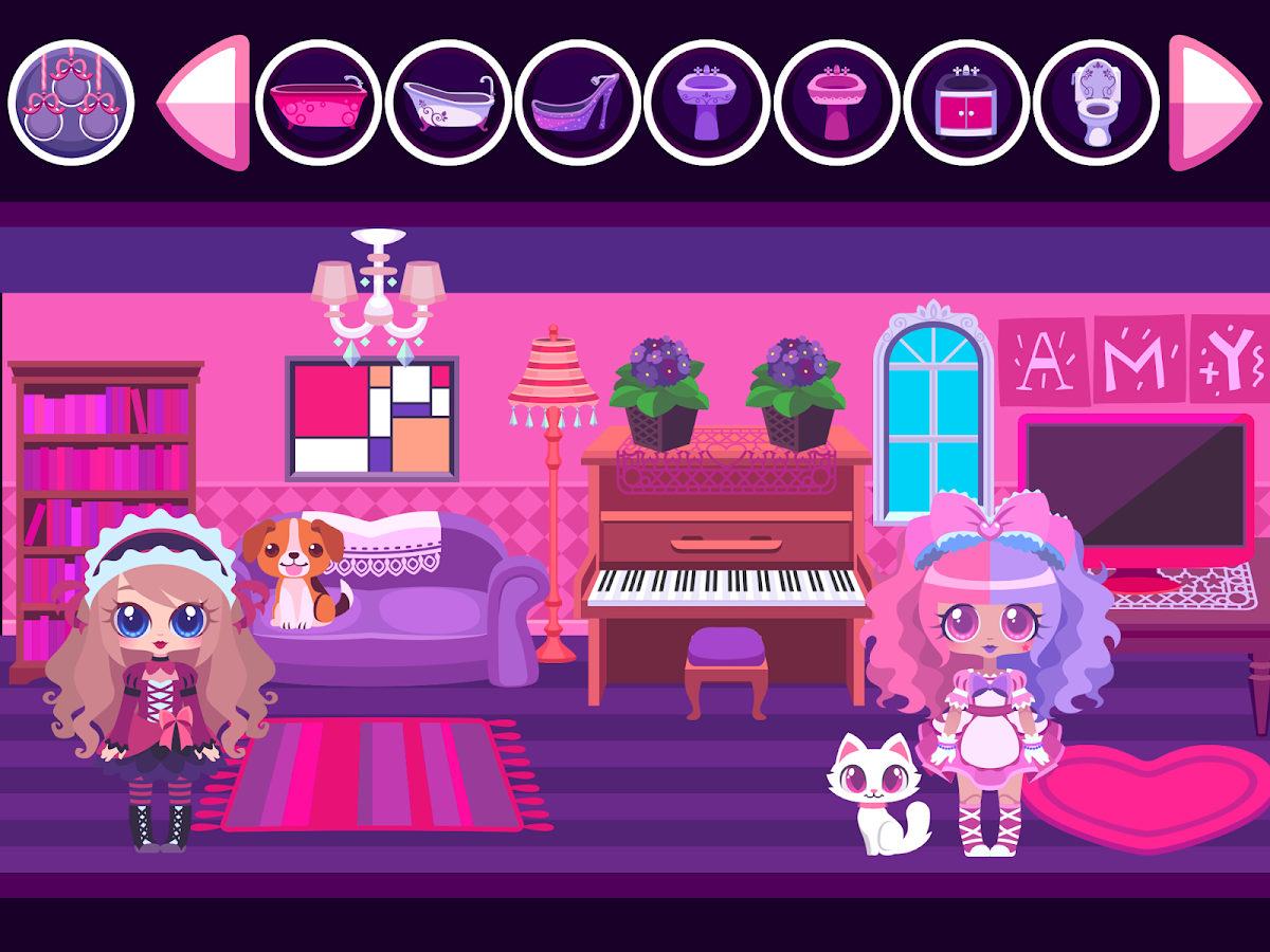 my doll house make and decorate your dream home android apps my doll house make and decorate your dream home screenshot