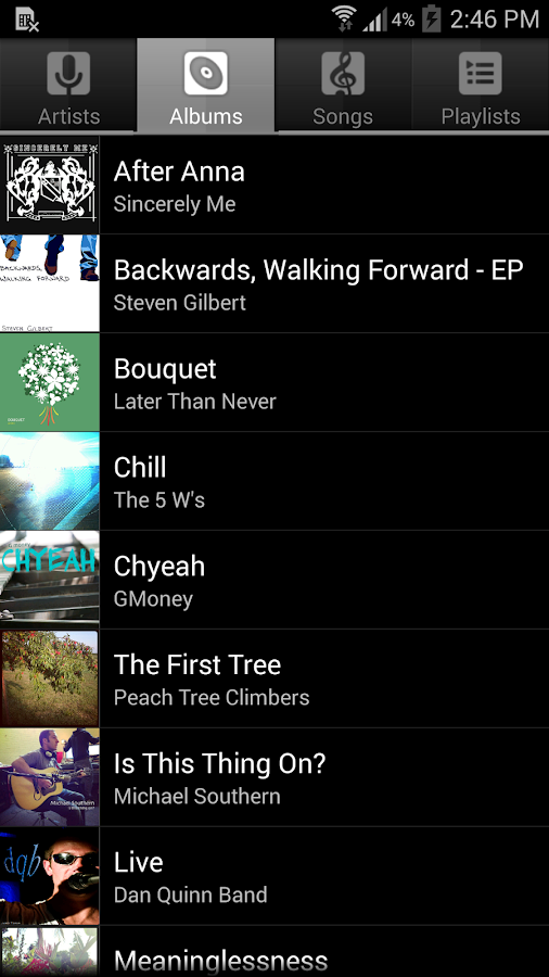 Music Player for Android - screenshot