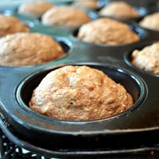 Oat Applesauce Muffins.