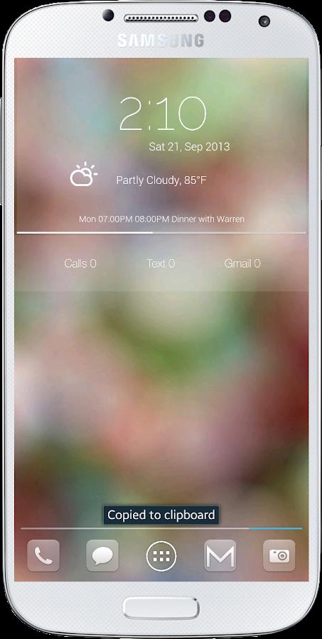 Simple Glass Zooper Skin - screenshot