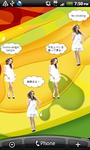 Girl's Clock 12 Memo Pad - screenshot thumbnail