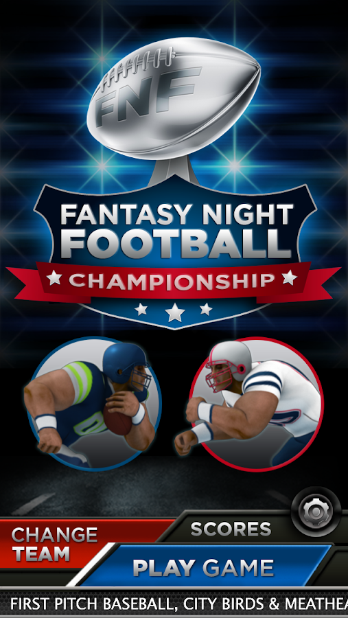 Fantasy Night Football Champ- screenshot