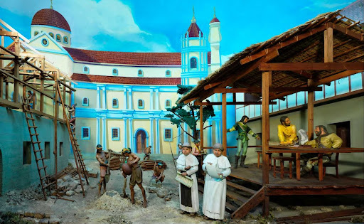 Diorama 17: Construction of UST, 1611