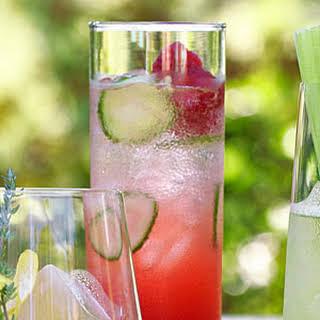 Italian Raspberry Cocktail.