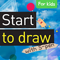 [S-Pen] Start drawing for Kids icon