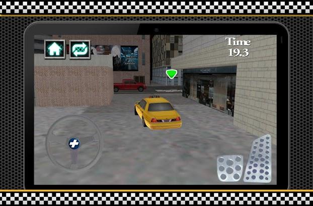 Speed Taxi Driver Parking 3D- screenshot thumbnail