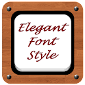 Elegant Font Style icon