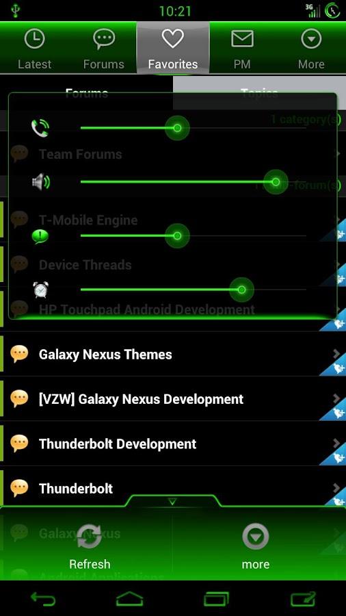 CM9 CM10 CM11 : Kiwi Cobalt- screenshot