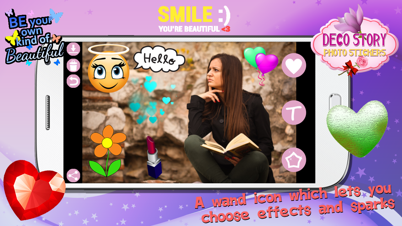 Deco Story Photo Stickers Android Apps On Google Play