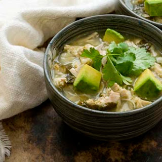 Chicken Posole Verde.