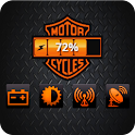 Harley Davidson Battery Widget logo