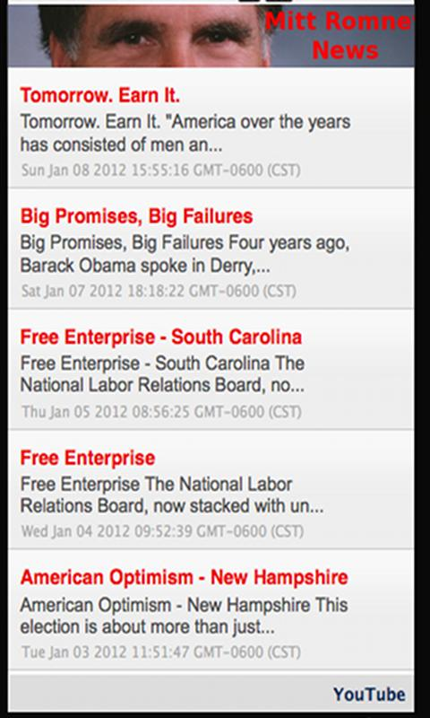 Mitt Romney. - screenshot