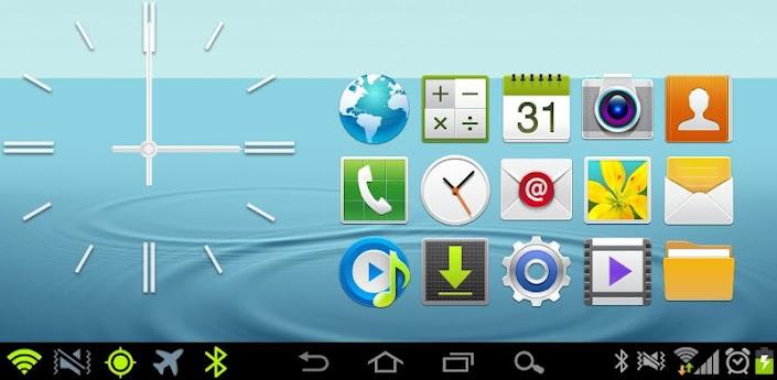 CM9 & AOKP Theme: TouchWiz 5.0 apk