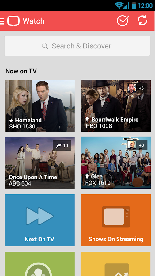 tvtag - formerly GetGlue - screenshot