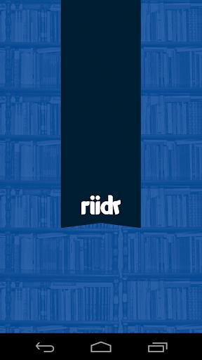 Riidr Bøger