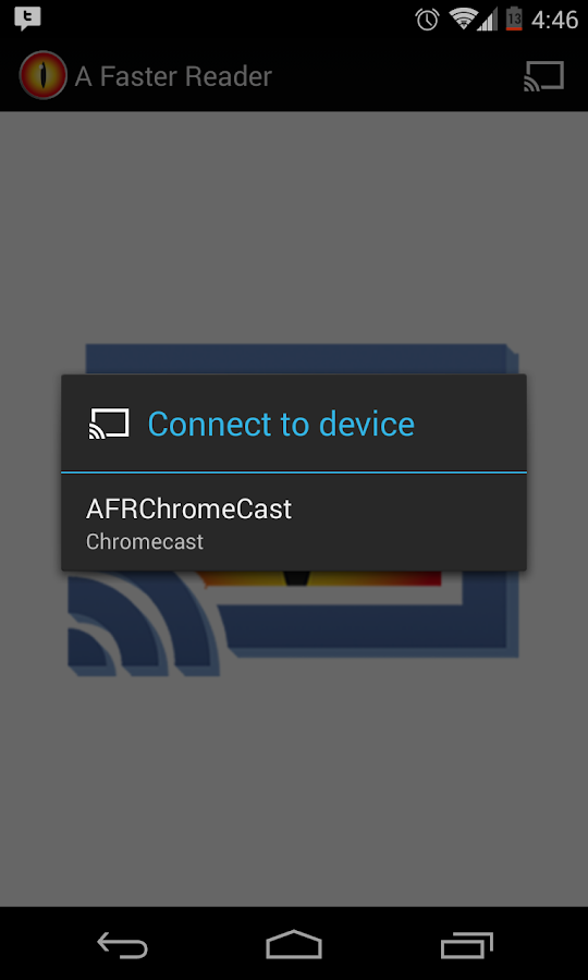 A Faster Chromecast- screenshot