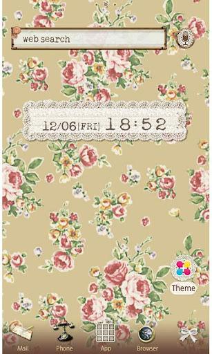 Flower Theme British Tea Rose 1.1 Windows u7528 1