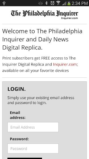 Philadelphia Inquirer Replica  screenshots 1