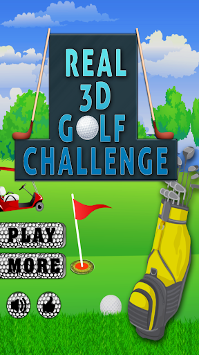 Real 3D Golf Challenge