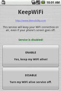 KeepWiFi screenshot 0