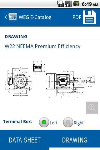 Weg Motors E Catalog Nema App