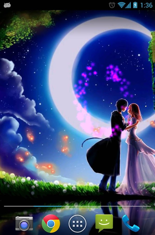 Romantic Love Live Wallpaper Apk : Moon Love Live Wallpaper - Android Apps on Google Play