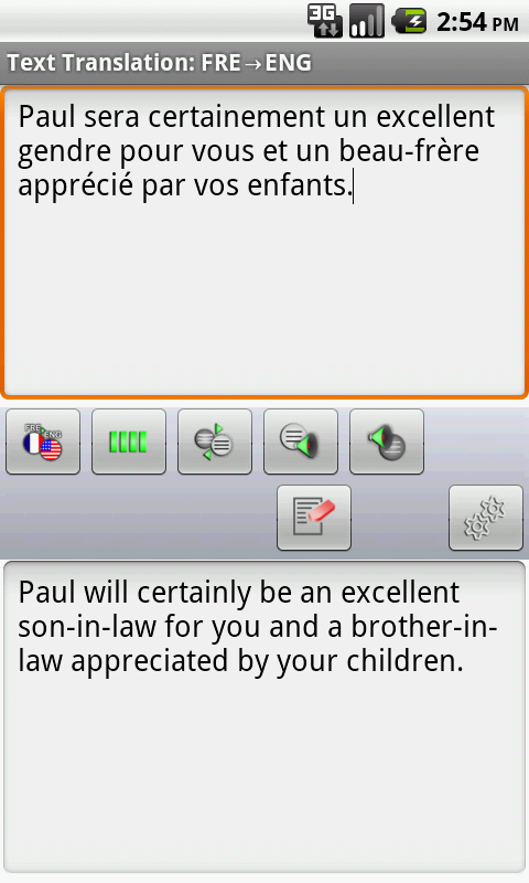 French Offline Translator- screenshot