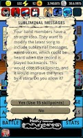 Screenshot of A Story of a Band Demo