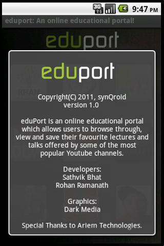eduPort - screenshot