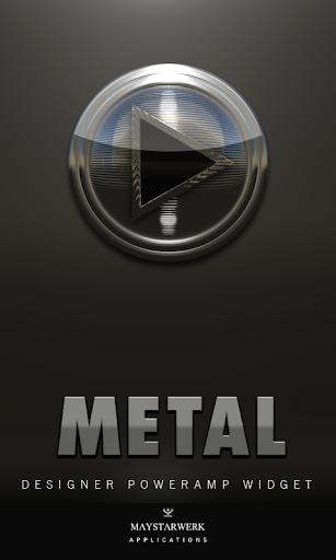 Poweramp Widget Metal