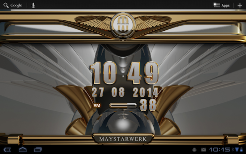 Digi Clock Widget Odinson Screenshot
