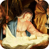 Jesus in Manger Live Wallpaper