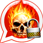 Skull Fire Lock Whats Chat