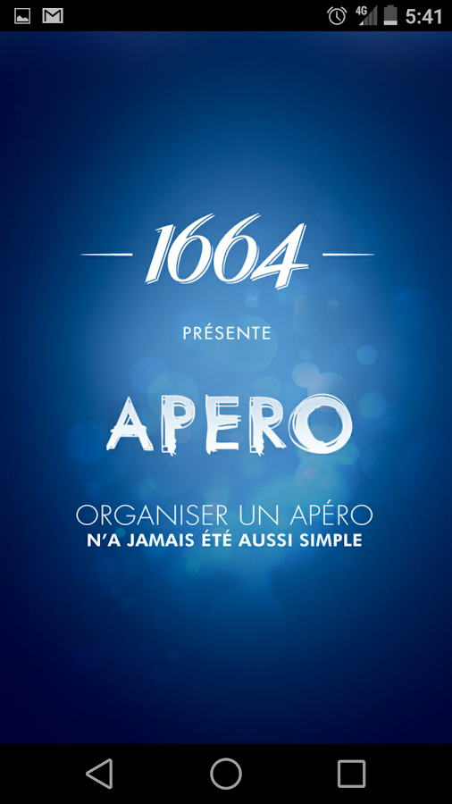 APERO – Capture d'écran